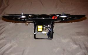 Vue de coté du Q350-D