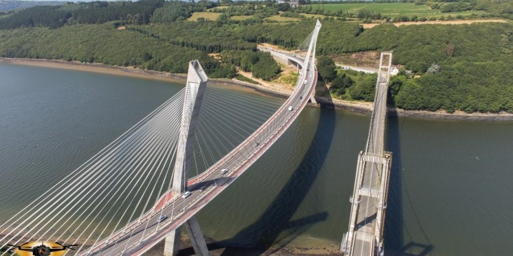 pont de terenez photocoptere