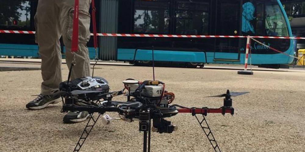 tournage tram ville