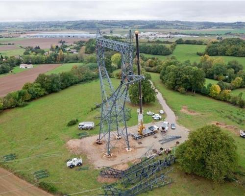 Montage pylone EDF